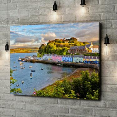 Leinwandbild personalisiert Isle Of Skye