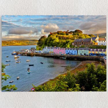 Personalisiertes Leinwandbild Isle Of Skye