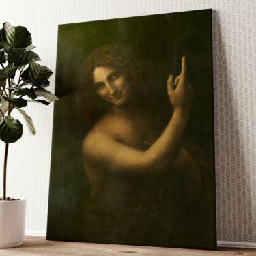Johannes der Täufer Wandbild personalisiert