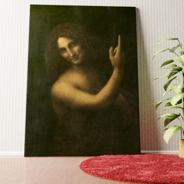 Personalisiertes Wandbild Johannes der Täufer