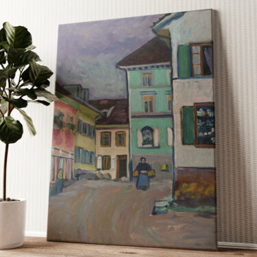 Johannesstraße Wandbild personalisiert