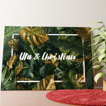 Personalisiertes Wandbild Jungle