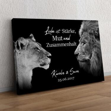 King & Queen (Schwarz)