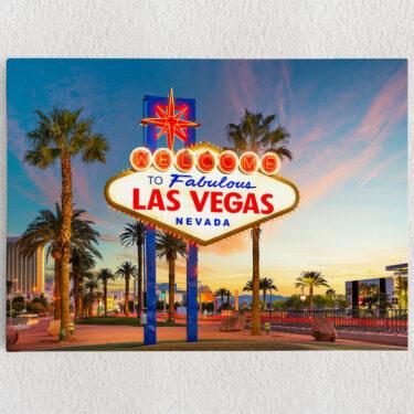 Personalisiertes Leinwandbild Las Vegas
