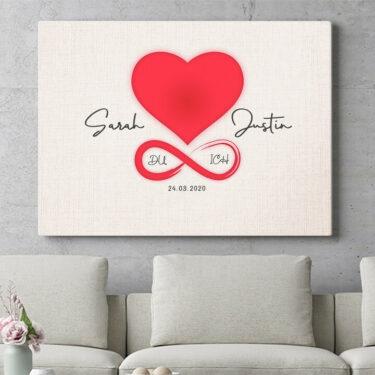 Personalisierbares Geschenk Liebe des Lebens