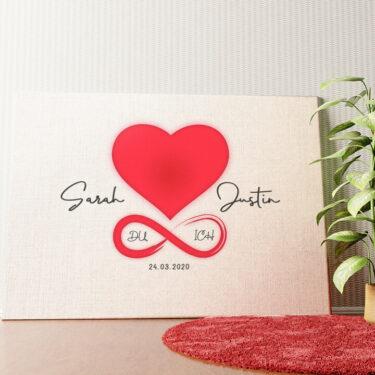 Personalisiertes Wandbild Liebe des Lebens