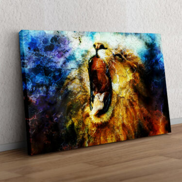 Löwe Abstrakt