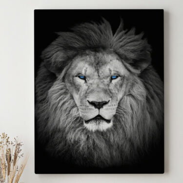Leinwandbild personalisiert Löwe