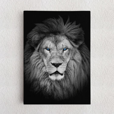 Personalisiertes Leinwandbild Löwe