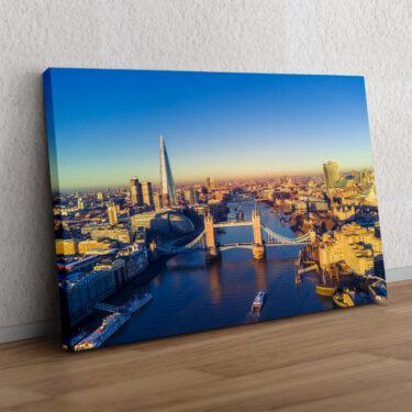 London Bridge Luftaufnahme
