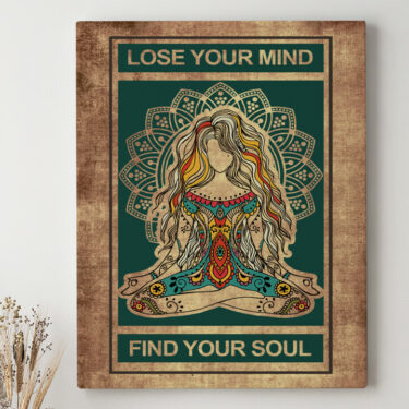Leinwandbild personalisiert Lose Your Mind