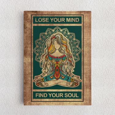 Personalisiertes Leinwandbild Lose Your Mind