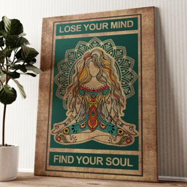 Lose Your Mind Wandbild personalisiert