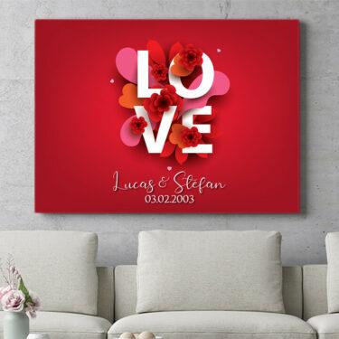 Personalisierbares Geschenk LOVE