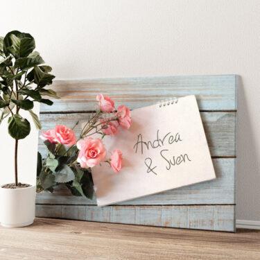 Love Letter Wandbild personalisiert