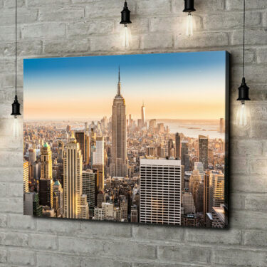 Leinwandbild personalisiert Manhattan New York