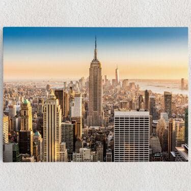 Personalisiertes Leinwandbild Manhattan New York