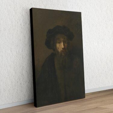 Mann mit Bart und Hut