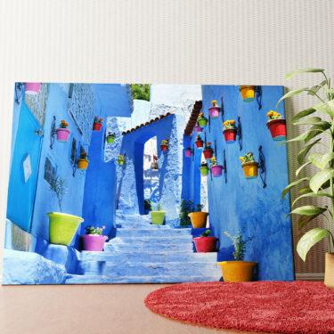 Personalisiertes Wandbild Marokkanische Gasse