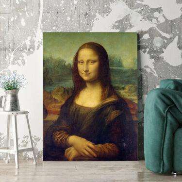 Personalisierbares Geschenk Mona Lisa