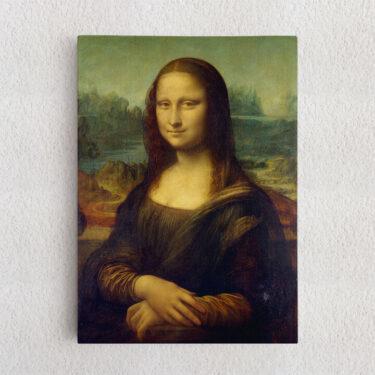 Personalisiertes Leinwandbild Mona Lisa