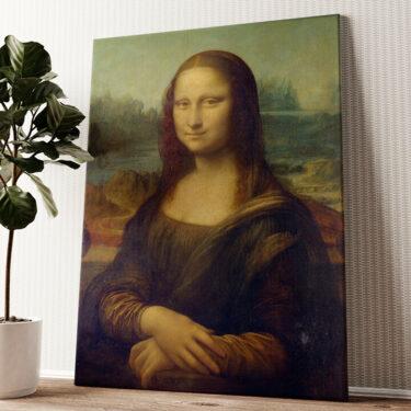Mona Lisa Wandbild personalisiert