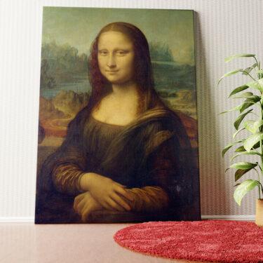 Personalisiertes Wandbild Mona Lisa