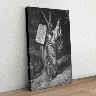 Moses und die 10 Gebote