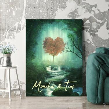 Personalisierbares Geschenk Mystic Love