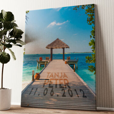 Ocean Wandbild personalisiert