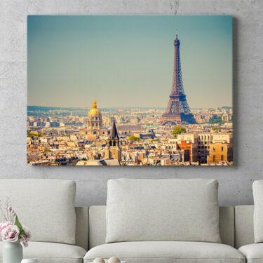 Personalisierbares Geschenk Paris Skyline