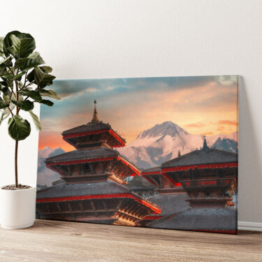 Patan Nepal Wandbild personalisiert