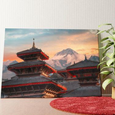 Personalisiertes Wandbild Patan Nepal