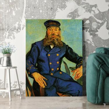 Personalisierbares Geschenk Portrait des Briefträgers