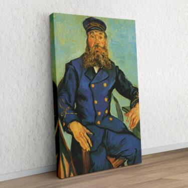 Portrait des Briefträgers