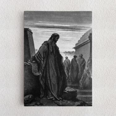 Personalisiertes Leinwandbild Prophet Daniel