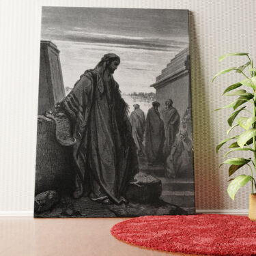 Personalisiertes Wandbild Prophet Daniel
