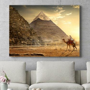 Personalisierbares Geschenk Pyramiden