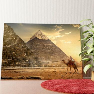 Personalisiertes Wandbild Pyramiden
