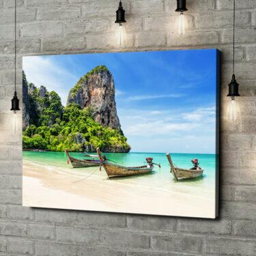 Leinwandbild personalisiert Railay Beach Thailand