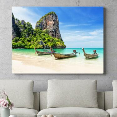 Personalisierbares Geschenk Railay Beach Thailand