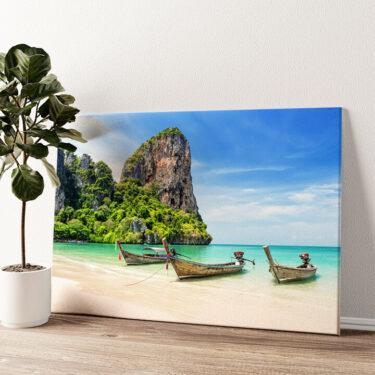 Railay Beach Thailand Wandbild personalisiert