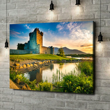 Leinwandbild personalisiert Ross Castle Irland