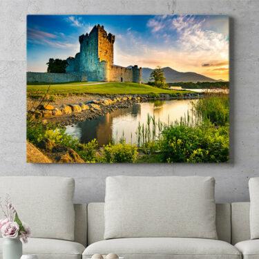 Personalisierbares Geschenk Ross Castle Irland