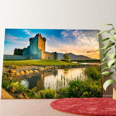 Personalisiertes Wandbild Ross Castle Irland