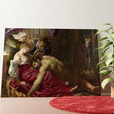 Personalisiertes Wandbild Samson und Delilah