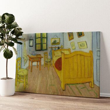 Schlafzimmer in Auvers Wandbild personalisiert