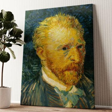 Selbstportrait im Herbst Wandbild personalisiert