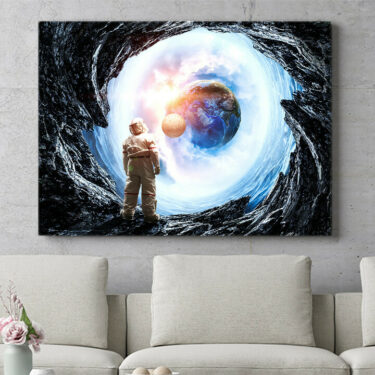 Personalisierbares Geschenk Spaceman
