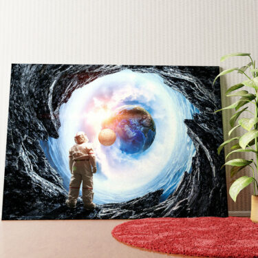 Personalisiertes Wandbild Spaceman